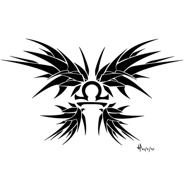 Libra tattoo by oenama
