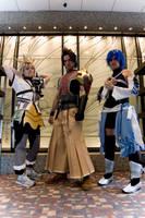 BBS: Three Heroes by SorceressCassandra