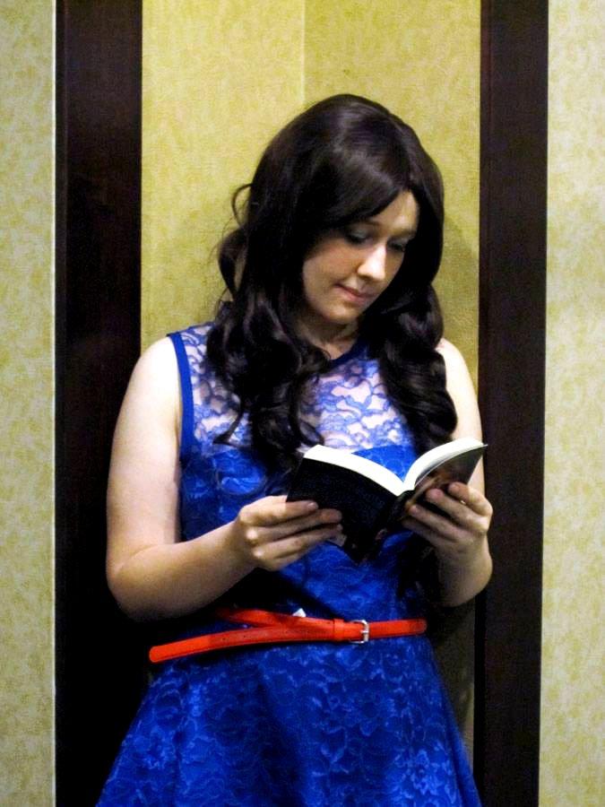Belle: Nose Stuck in a Book by SorceressCassandra