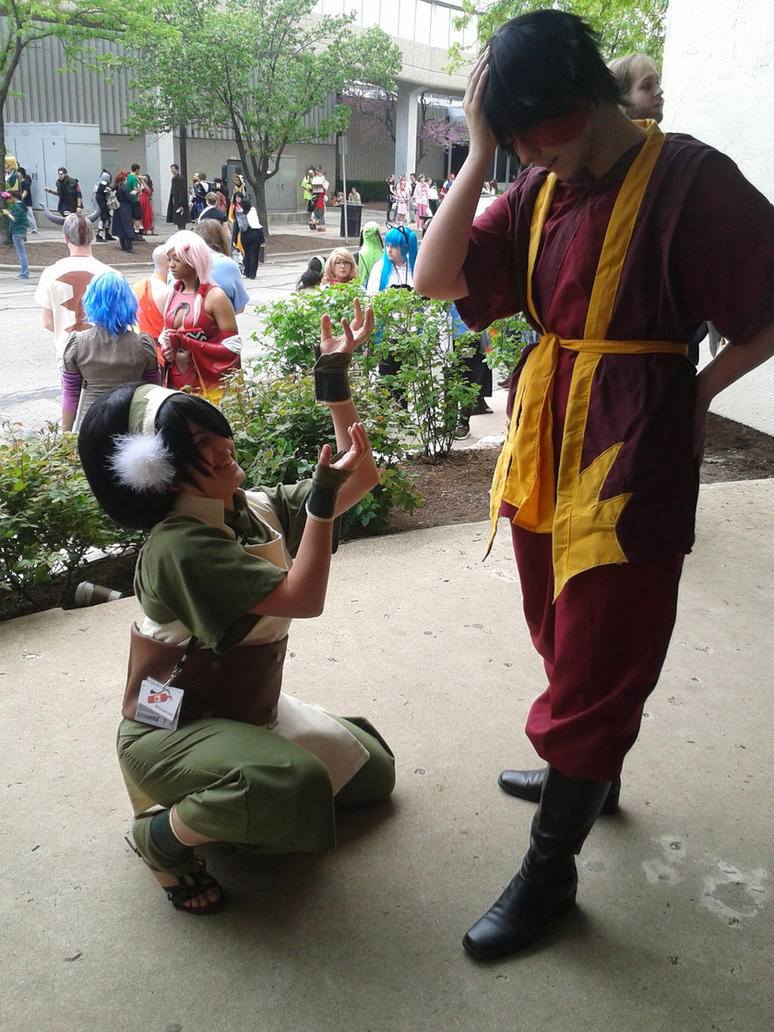 Zuko and Toph: Not Another Field Trip! by SorceressCassandra