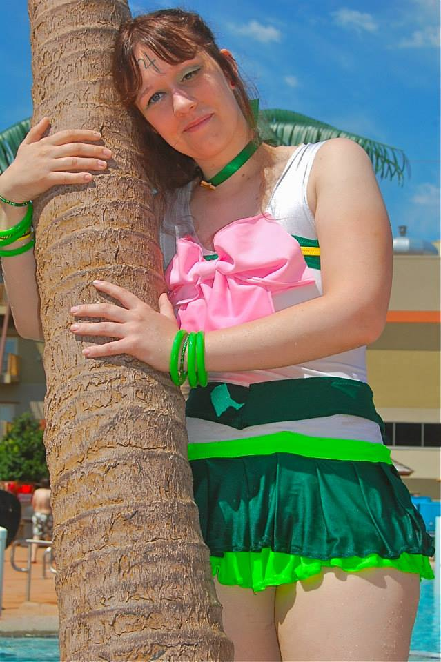 Eternal Scout Sailor Jupiter Swimsuit: Sincerity by SorceressCassandra