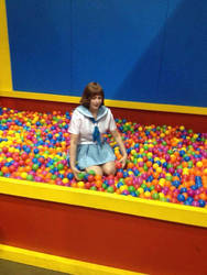 Don't lose your way...in the AX ballpit! by blondepg