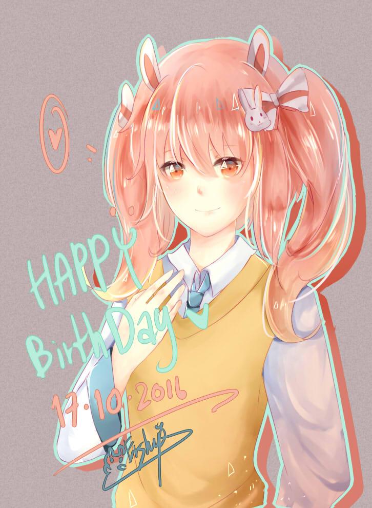 21 . Happy birth day 101716 by Ermineshep