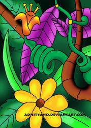 green by adhityano