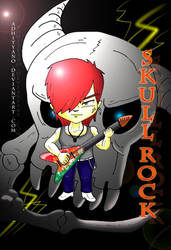 skull rock by adhityano
