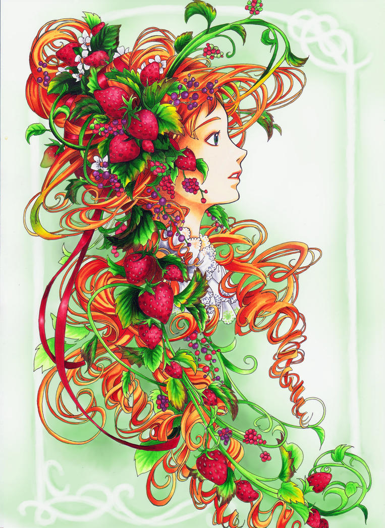 Strawberry by roteHexe