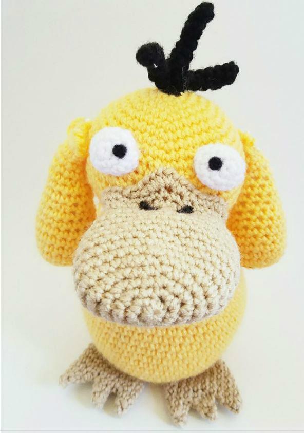 Crochet Psyduck by bekichat