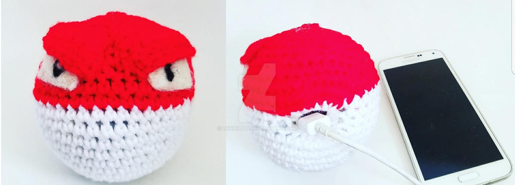 Crochet Voltorb by bekichat