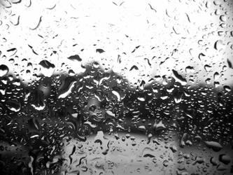 Rain B and W