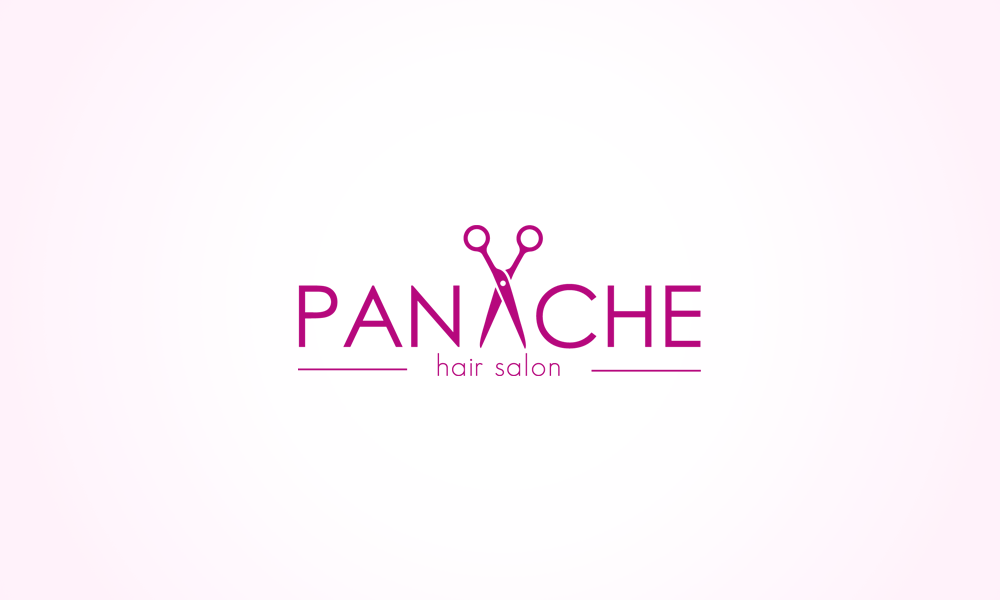Panache Hair Salon Logo By Evey90 On