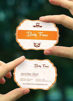 Body Focus business card