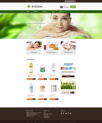 Activitrac Massage Supplies homepage