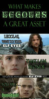 What makes Legolas a great asset