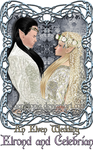 An Elven Wedding - Elrond and Celebrian by Faerietopia