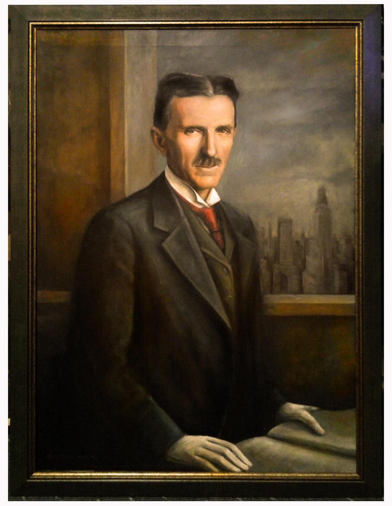 Nikola Tesla By Fritfrut On Deviantart
