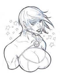 powergirl sckech! by salo-art