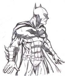 batman skech2 by salo-art