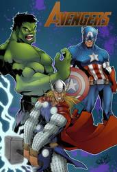 avenger new color by salo-art