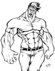 hulk ink! by salo-art