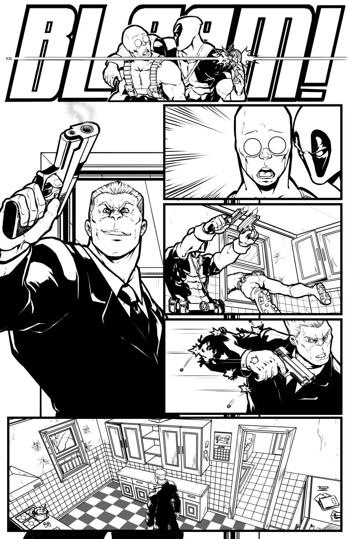 Marvel test Deadpool  002 by salo-art