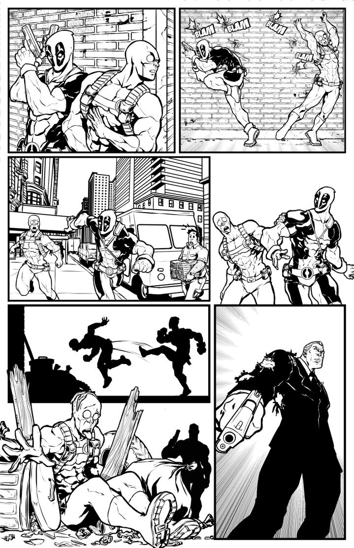 marvel test Deadpool 004 by salo-art