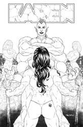 Karen Comic Cover