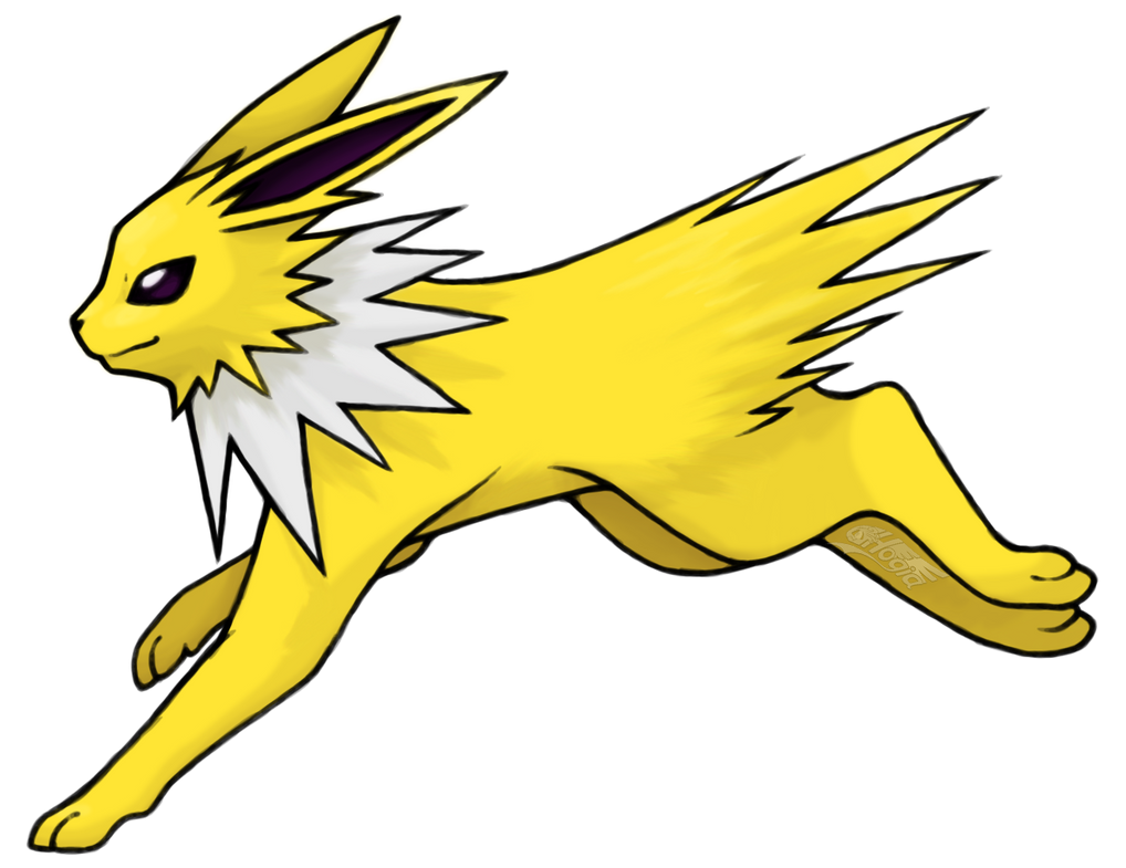 jolteon by hogia on deviantart