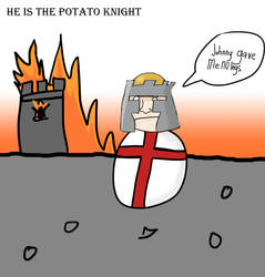 Potato Knight by keosku