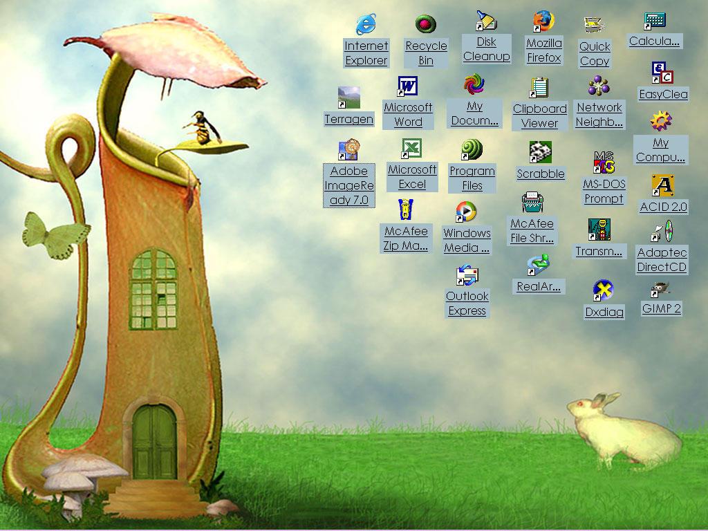 Gardenhouse Desktop by NooYawkGurrl