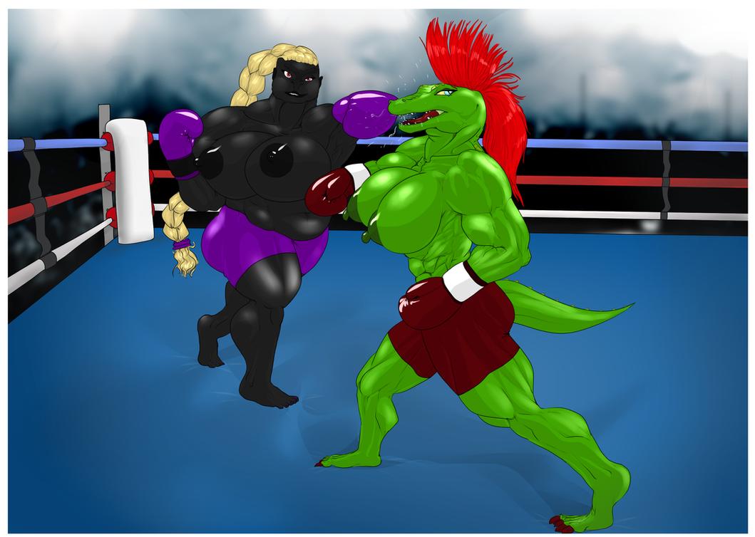 Diana vs Katherine: round 1 by Verrakon