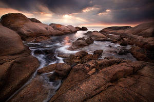 Paternoster Sunset by Zefisheye