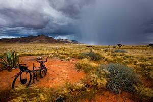 Desert Shower by Zefisheye