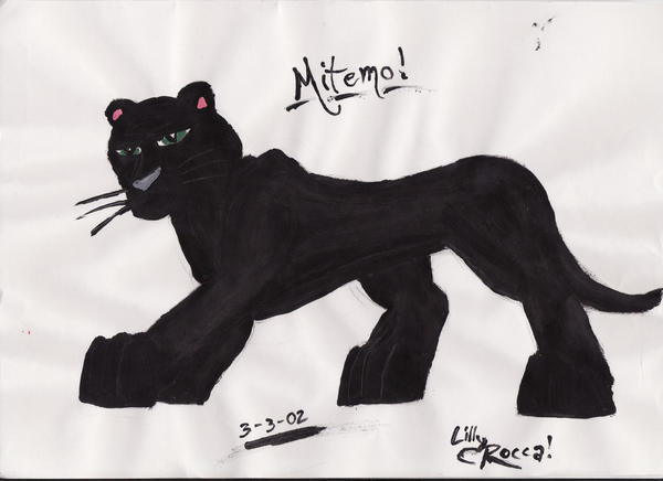 Black Panther By Portela On Deviantart: Mitemo By LilRockar On DeviantArt
