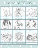 Meme of tears - TdR
