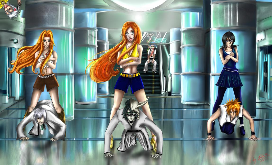 oppa bleach style by zelka94