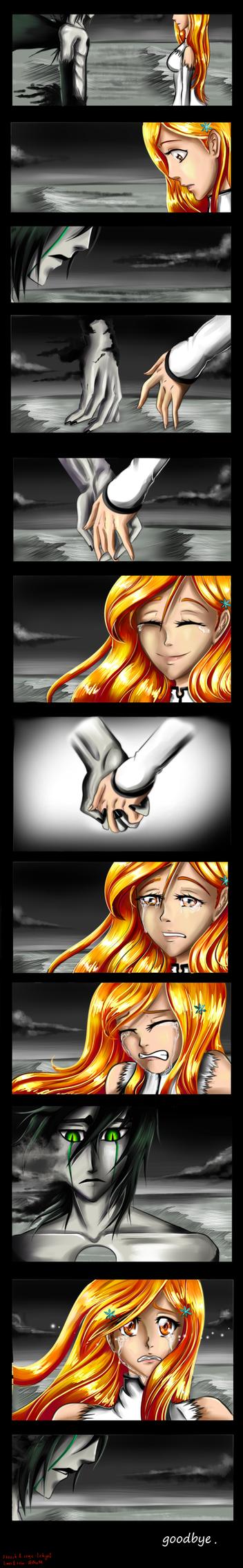 Ulquihime the last goodbye by zelka94