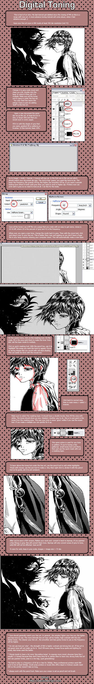 Comic screentoning tutorial by Cetriya