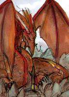 Dragon by Cetriya