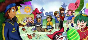 All Digimon Leader- Aniversario