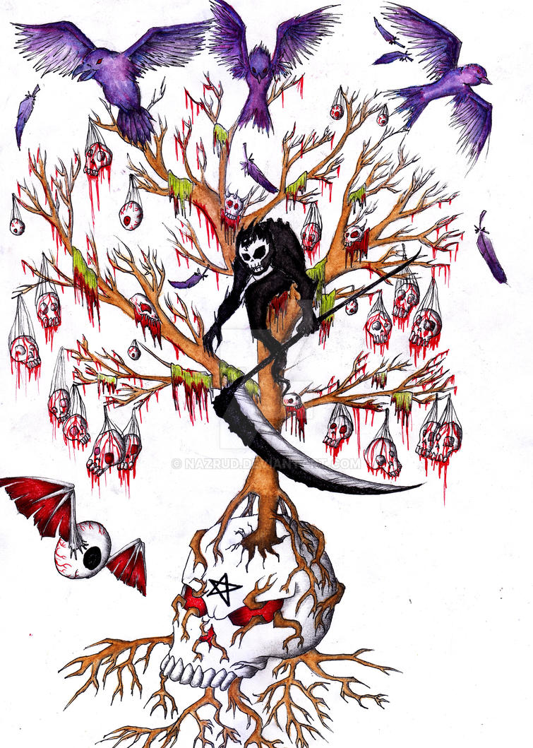 Darkness Tree by nazrud
