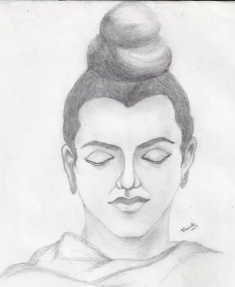 Gautam buddha by saursci