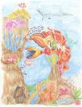 Mermaid's play by Coin-du-Feu