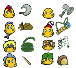 Toad Patrol Stickers by spotty-bee