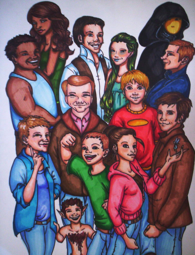 Fablehaven book 3 Characters by davincidiva on DeviantArt