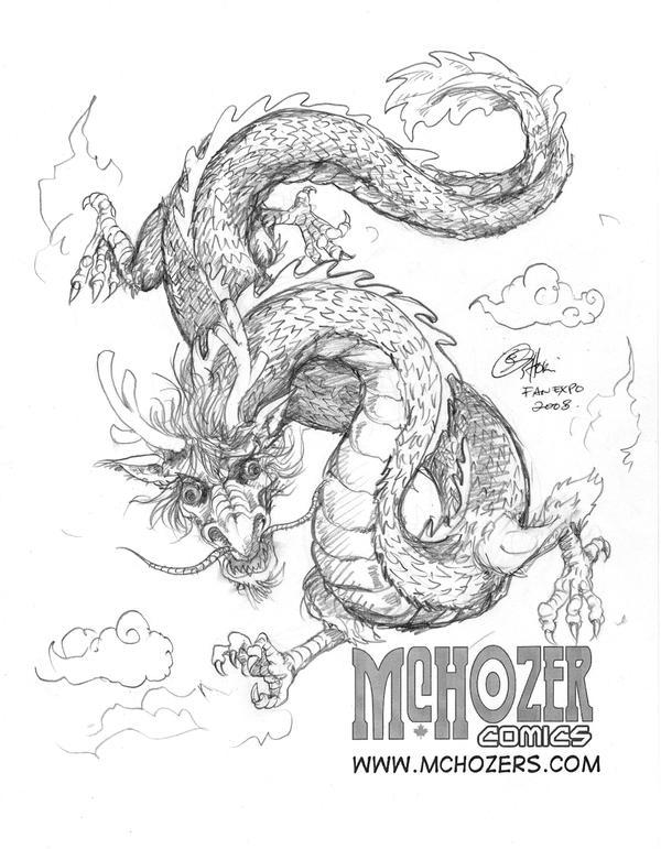 ConSketch - Dragon by Oshouki