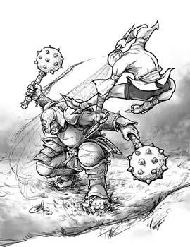 Wu Xing: Rhino vs. Spider