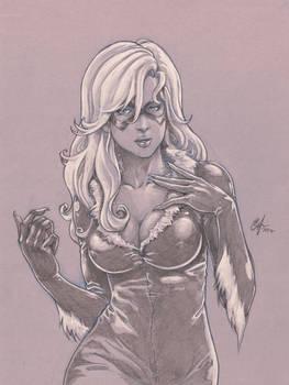 Black Cat sketch commission