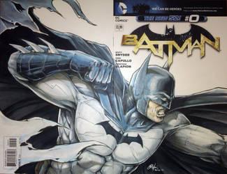 Batman blank variant