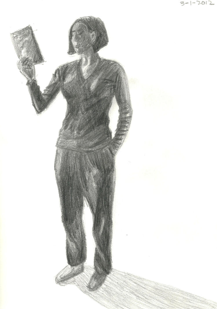 Standing Figure Sketch 1 By AudacesFortunaJuvat On DeviantART