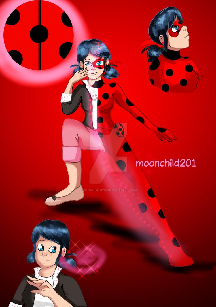 Ladybug Redraw 2019 by moonchild201